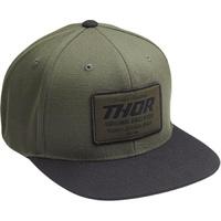 Thor 2020 Goods Snapback Hat Gray/Military Green