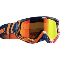 Thor 2019 Sniper Goggle Geo Navy/Orange