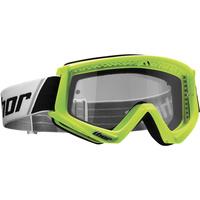 Thor 2021 Combat Goggle Fluro Green/Black