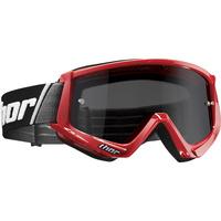 Thor 2021 Combat Sand Goggle Red/Black