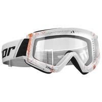 Thor 2021 Combat Goggle Web White/Orange