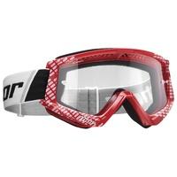 Thor 2021 Combat Goggle Cap Red/White