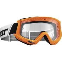 Thor 2021 Combat Youth Goggle Fluro Orange