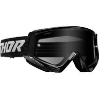 Thor 2022 Combat Racer Sand Goggles Black/Grey