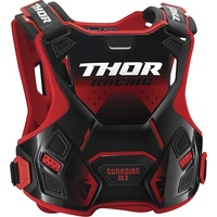Thor 2021 Guardian MX Youth Roost Guard Red/Black
