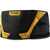 Thor 2021 Clinch Youth Kidney Belt Black/Yellow