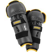 Thor 2021 Sector GP Youth Knee Guards Black