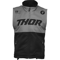 Thor 2021 Warm Up Vest Black/Charcoal