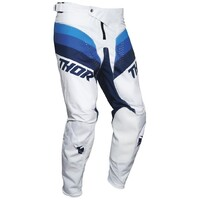 Thor 2021 Pulse Racer Pant White/Navy