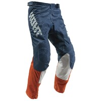 Thor 2019 Pulse Air Acid Youth Pant Red Orange/Slate