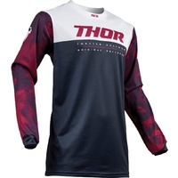 Thor 2019 Pulse Air Acid Jersey Midnight/Grey