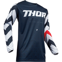 Thor 2019 Pulse Stunner Jersey Midnight/White