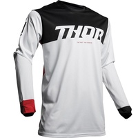 Thor 2019 Pulse Air Factor Jersey White/Red