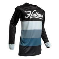 Thor 2020 Hallman Horizon Jersey Black/Blue