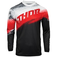 Thor 2021 Sector Vapor Jersey Red/Black