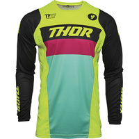 Thor 2021 Pulse Racer Jersey Acid/Black