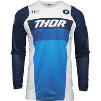 Thor 2021 Pulse Racer Jersey White/Navy