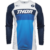 Thor 2021 Pulse Racer Jersey White/Navy