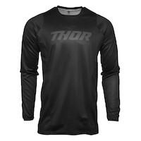 Thor 2021 Pulse Blackout Jersey Black [Size:XL]