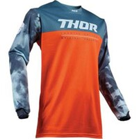 Thor 2019 Pulse Air Acid Youth Jersey Red Orange/Slate
