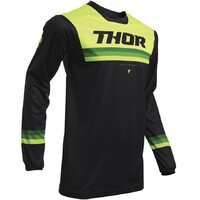 Thor 2020 Pulse Air Pinner Youth Jersey Black/Acid