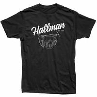 Thor 2020 Hallman Open Face Tee Shirt Black