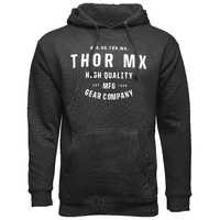 Thor 2022 Crafted Fleece Pullover Black