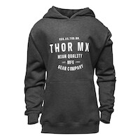 Thor 2022 Crafted Fleece Girls Pullover Charcoal