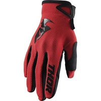 Thor 2021 Sector Gloves Red