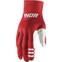 Thor 2021 Agile Plus Gloves Red