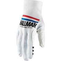 Thor 2021 Hallman Mainstay Gloves White