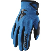Thor 2021 Sector Youth Gloves Blue