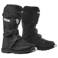 Thor 2021 Blitz XP Youth Boots Black