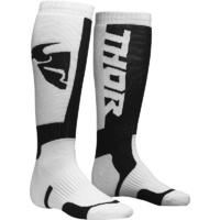 Thor 2021 MX Youth Socks White/Black