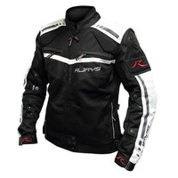 #RJAYS OCTANE II JACKET LADIES BLACK/WHITE
