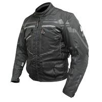 Rjays Dune Ladies Jacket Black/Grey