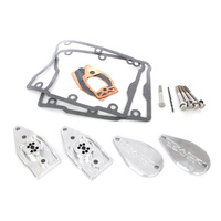 Trask Performance TP-DM-1999 Mystfree Rocker Box Breather Kit for Twin Cam 99-17