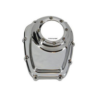Trask Performance TP-TM-018CH Assault Clear Cam Cover Chrome for Milwaukee 8 18-Up