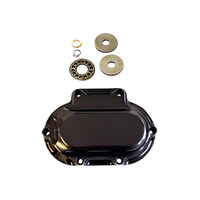 Trask Performance TP-TM-2039BK Hydraulic Clutch Cover Gloss Black for Dyna 06-17/Softail 07-17/Touring 07-13