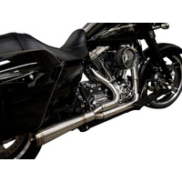 Trask Performance TP-TM-5000 Assault 2-1 Exhaust Stainless Steel for Touring 07-16