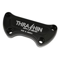 Thrashin Supply TS-TSC-2800-4 Handlebar Top Clamp Twice Cut Black