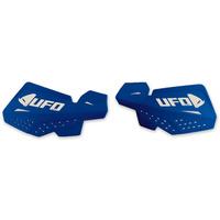 UFO Escalade Handguards Blue/White