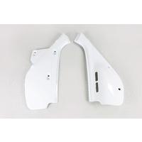 UFO Side Panels White for Honda XR600 88-02