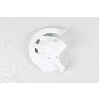 UFO Front Disc Cover White for Honda CR125/250/500 95-99