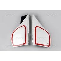 UFO Side Panels White for Yamaha TT 600 84-92