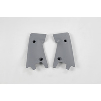 UFO Lower Radiator Shrouds Grey for Husqvarna CR 125/250 00-03 & 2005/WR 125/250 2005