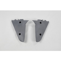 UFO Lower Radiator Shrouds Graphite for Husqvarna TC/TE/TX 05-07