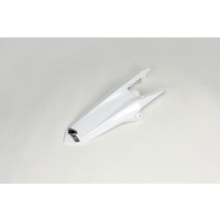 UFO Cross Rear Fender White for Husqvarna TC 125/300/FC 250/350/450 14-15/TC 250 14-16