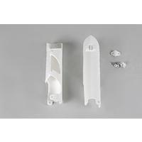 UFO Fork Slider Protector White for Husqvarna TC/FC 2014/TE/TX/FE 14-15