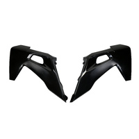 UFO Radiator Shrouds Black for Husqvarna TC 125/TC/FC 250 19-20/TE 150/TE/TX 250 2020